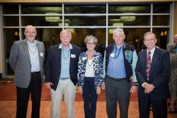 Big Shoal classmates: Bob Hankins, Don Bale, Marilyn Henry Carr, Jim Edwards, Art Black