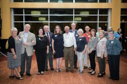 Briarcliff School: Suzie Sterling Kritta, Alan Mast, Elaine Eagle, Terry Ward, Linda Doolin Ward, Henry Werner, Dave How